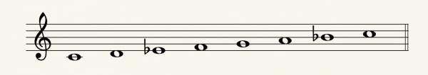 c-dorian-scale